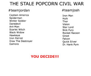 Civil War Teams22